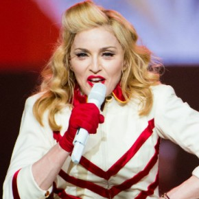 "Madonna in ""Gangnam Style"" at Madison Square Garden"