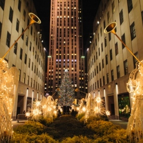 The 80th Rockefeller Center Christmas tree lighting ceremony!